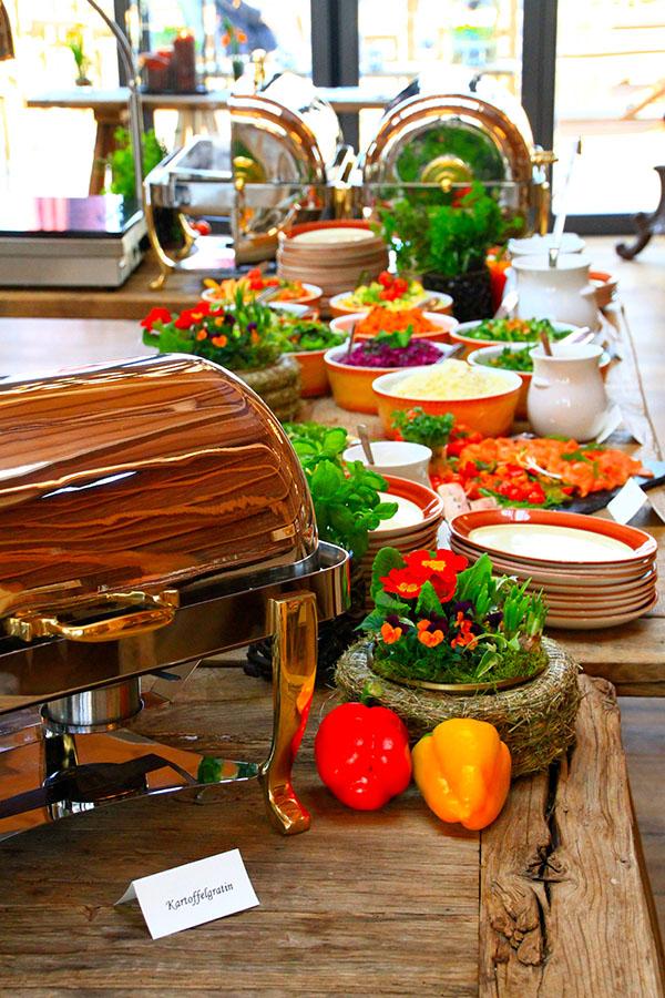 Catering auf dem Hofgut Dagobertshausen
