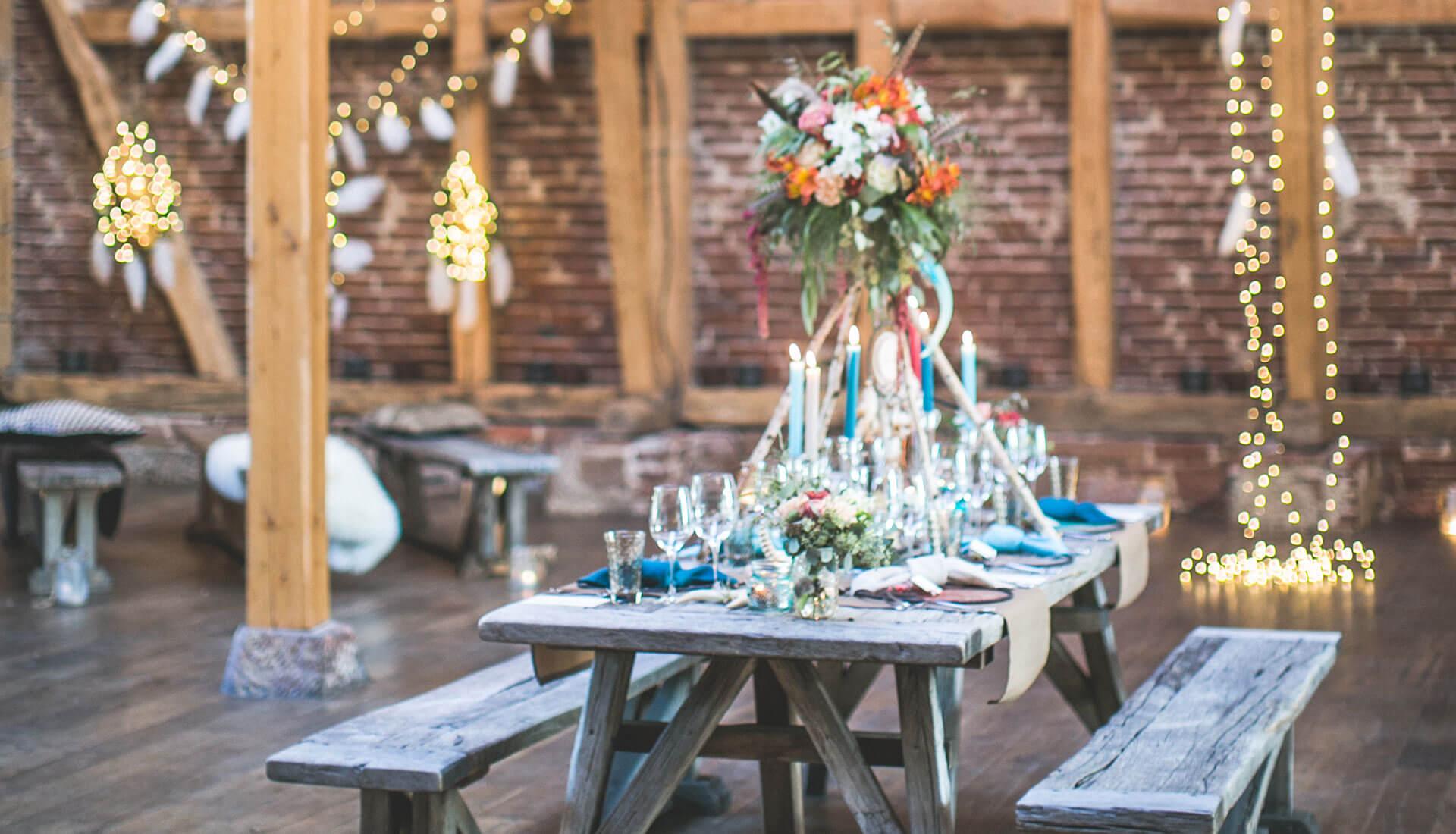 Hochzeit in der Eventscheune, Credit: Hannah L - Lebendige Fotografie