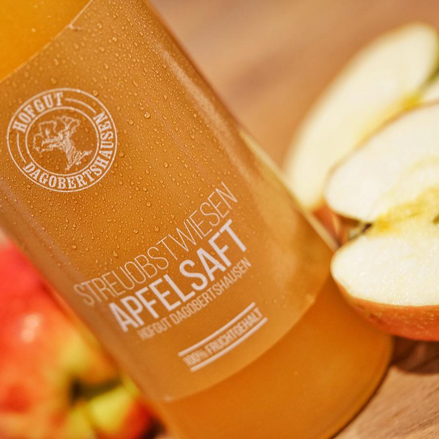 Apfelsaft vom Hofgut Dagobertshausen