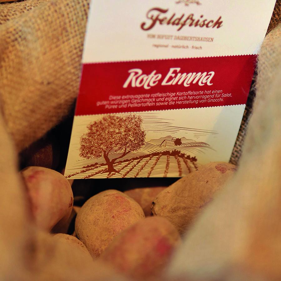 Kartoffel Rote Emma, Hofgut Dagobertshausen