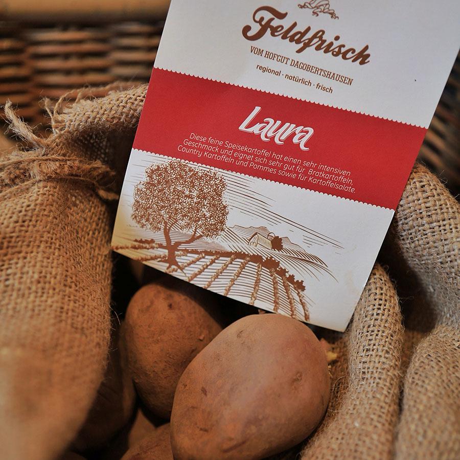 Kartoffel Laura, Hofgut Dagobertshausen