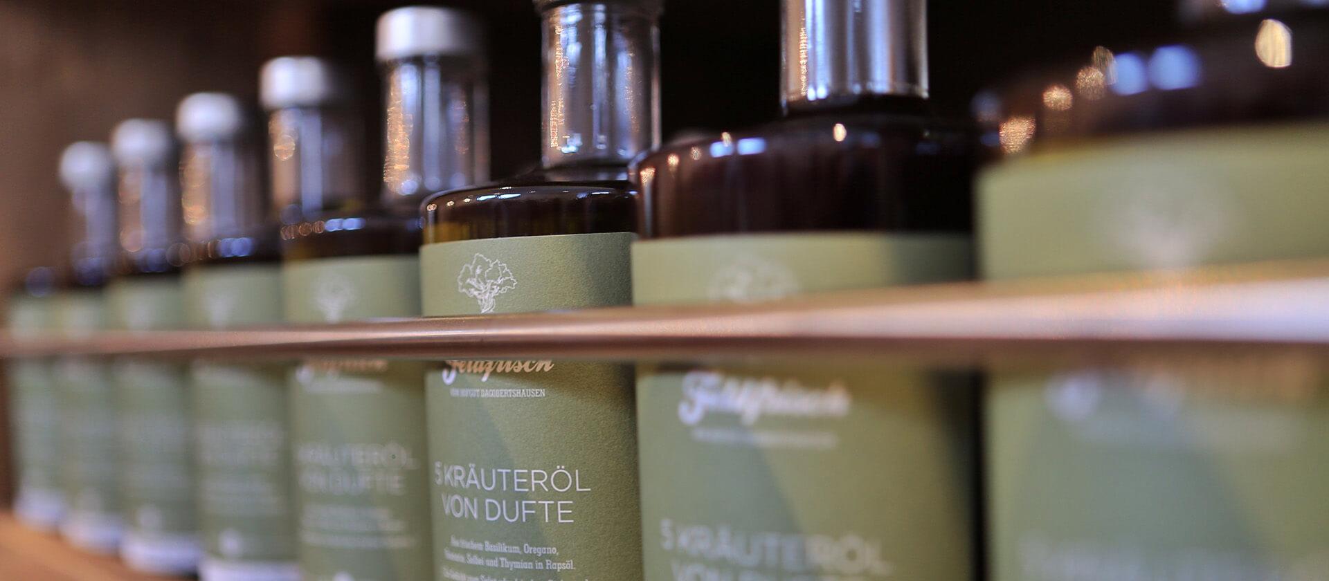 Feldfrisch & Fein Produkte im Hofladen des Hofgut Dagobertshausen